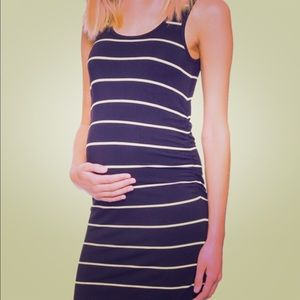 Rosie Pope Navy Kimberly Sleeveless Cinched Dress
